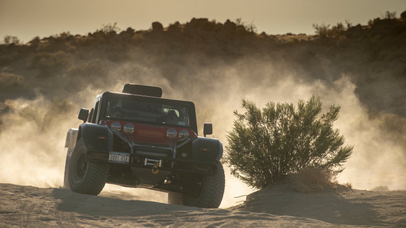 Jim Glickenhaus challenges Elon Musk to compete in the Baja 1000